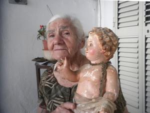 Assunta con la statuetta di Gesù Bambino