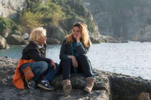 Cinzia th Torrini e Vanessa Incontrada sul set di Un'altra vita