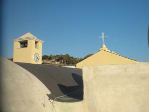 Il tetto dal retro