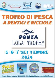 Locandina Lola Trophy 2014