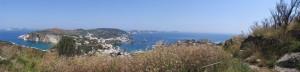 Ponza. Panorama dalla Guardia Guarini