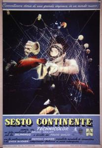 Sesto continente. Folco Quilici. Locand. Film