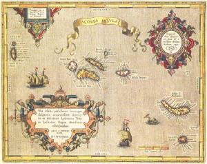 cartina isole Azzorre