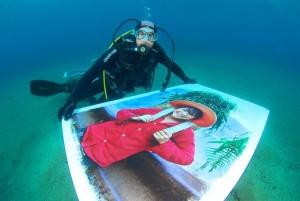 immagine mostra subacquea di Salvo Galano 2