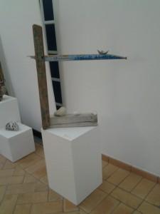 L'opera di Marta Bilbao, simbolo della mostra