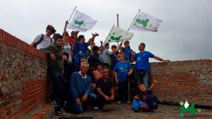 004 Scirocco e bandiere a Porto Ercole