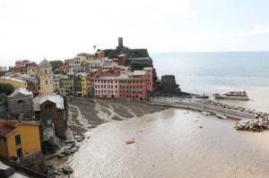 Alluvione in Liguria. Vernazza