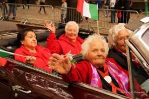 Anziane ponzesi-americane per S. Silverio