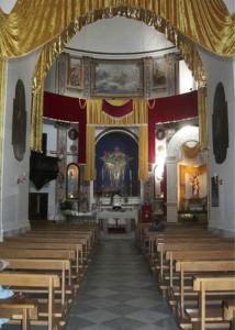 Chiesa SS. Trinità. Interno