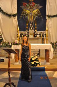Concerto lirico in Chiesa. Giulia Sensati