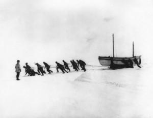 Il traino delle scialuppe