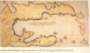 Isole di Pontio. XVI sec.