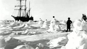 L'Endurance tra i ghiacci. Uomini