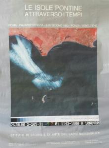 Manifesto Mostra Isole pontine. Resized
