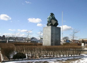 Prince Henry monument. New Bedford USA