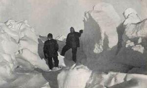 Wild e Shackleton tra i ghiacci
