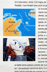 posizione de La Galite nel Mediterraneo