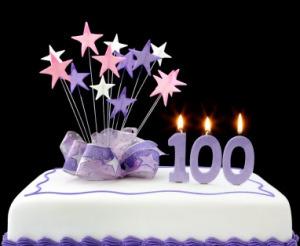 torta dei 100 anni