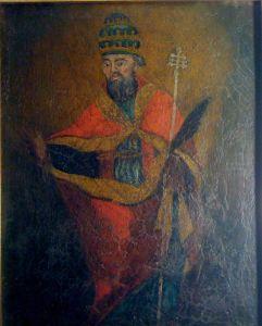 Antica immagine di San Silverio