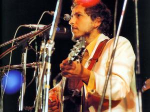 Bob Dylan nel '69 all'isola di Wight