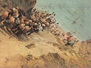La discesa al mare