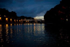 Il Tevere di notte
