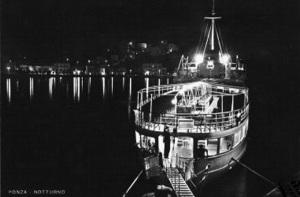 Il Vapore nel Porto. Notturno