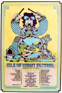 Isle of Wight Festival 1970. Locandina
