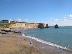 Isle of Wight. Freshwater Bay