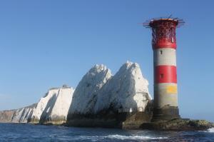 Isle of Wight. Needle's Lighthouse