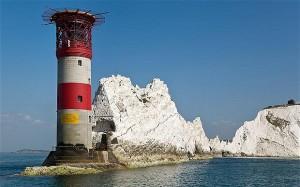 Isle of Wight. Needles_Lighthouse. Dx