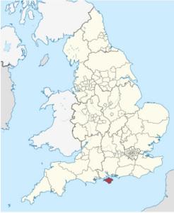 Isola di Wight. Mappa