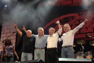 L'ultimo saluto al Live 8 londinese del 2005