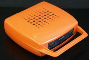 Mangiadischi color arancio