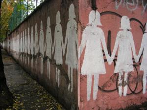 Muro a S. Lorenzo. Via dei Sardi. Part.