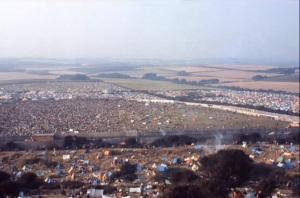 Panorama dalla collina.Lato dx