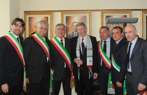 Roger-Waters. Cittadinanza onoraria di Anzio