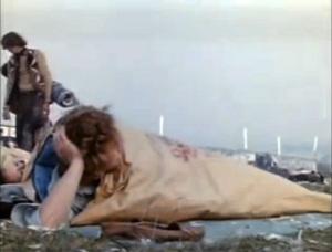Sacco catramato cosiddetto waterproof sleeping bag