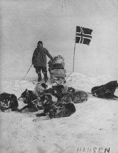 Hansen. Uno dei membri della spedizione al Polo Sud di Amundsen