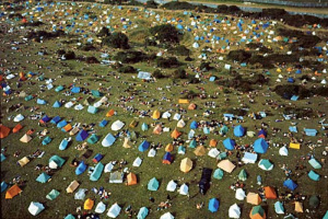 Wight '70. Tendopoli