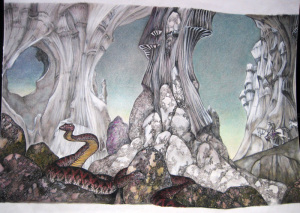 YES.Relayer.1974. Cover design by Roger Dean