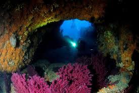 grotta sottomarina