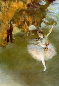 Edgar Degas. L'étoile. 1878