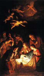 Gerrit von Hornhltz Adorazione dei Pastori. 1919-20