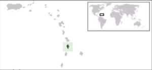 Isola di Santa Lucia. Posizione geografica