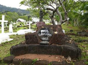 La tomba di Gauguin a Hiva Oa