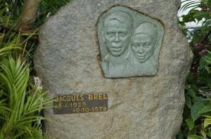 La tomba di Jacques Brel a Hiva Oa