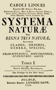 Linnaeus.1758. Book