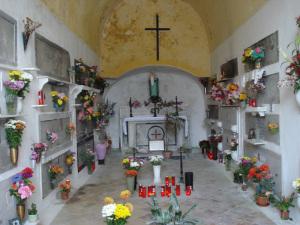 L'interno di una cappella