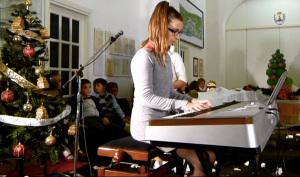 Miriam Balan al saggio di pianoforte